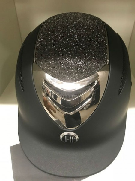 One K Defender matt schwarz mit dunkelbraunem Glittertop und Crome- LIMITED!