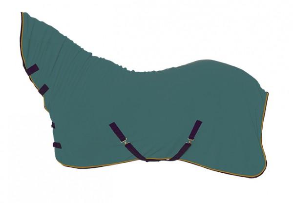Abschwitzdecke mit Halsteil, 2 tolle Farben