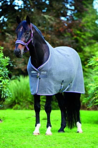 Horseware Rambo Deluxe Fleece 600g black oder charcoal