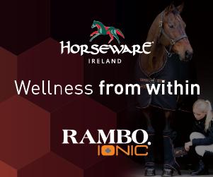 Horseware Rambo IONIC Fleece - die Ionentherapie als Fleecedecke