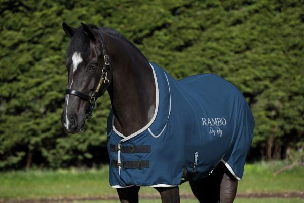 Horseware Rambo Dry Rug SUPREME - die dünnere Version für ungeschorene Pferde