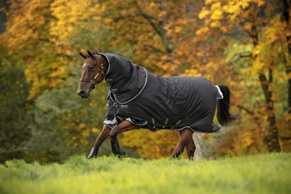 Horseware Amigo Bravo 12 Plus 250g mit Halsteil und V-Vorderverschluß, neue Farbe