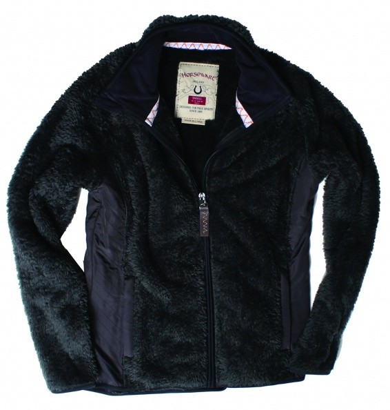 Fitted Softie Fleece, Teddy-Fleecejacke Horseware Gr. M Sale