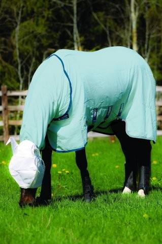 Horseware Rambo Sweetitch Hoody plus Vamoose Insektenschutz