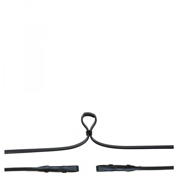 BR Kandarenzügel aus Leder rundgenäht mit Zaumhaken
