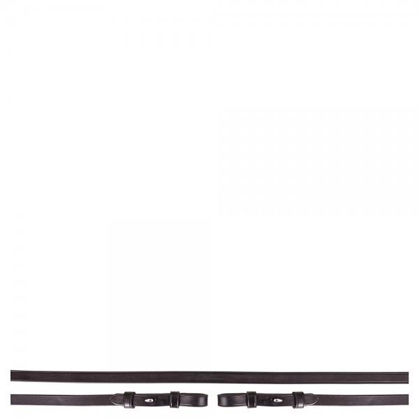 Kandarenzügel Leder glatt 13 mm