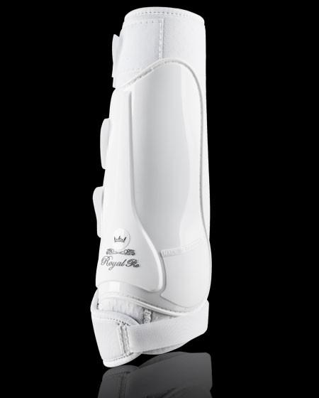 Dressurgamasche Royal Pro von GERA Fesselkopfgamasche in weiß