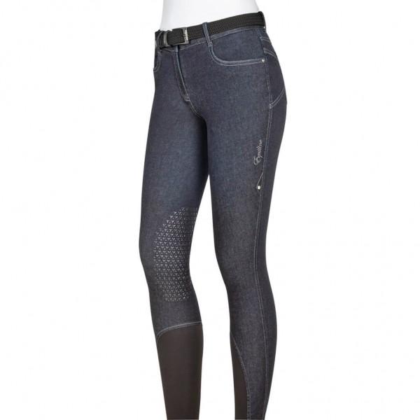 Equiline Damenreithose Calyk Knee-Grip Jeans-Optik