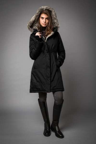 Lugano Coat, Winterreitmantel AA Platinum SALE