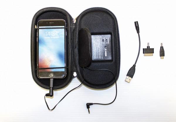 Rambo Event Boombox mit Solarladegerät für Iphone, I-Pad, Mobilphone