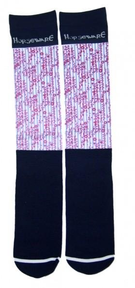 Horseware Show Socks - 2 Paar Nylonsocken passend zur Frühjahr-/Sommerkollektion