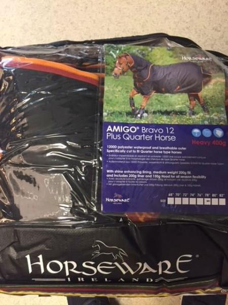 Horseware Amigo Bravo 12 Quarter Horse Plus 200g mit Hals + 200g Liner