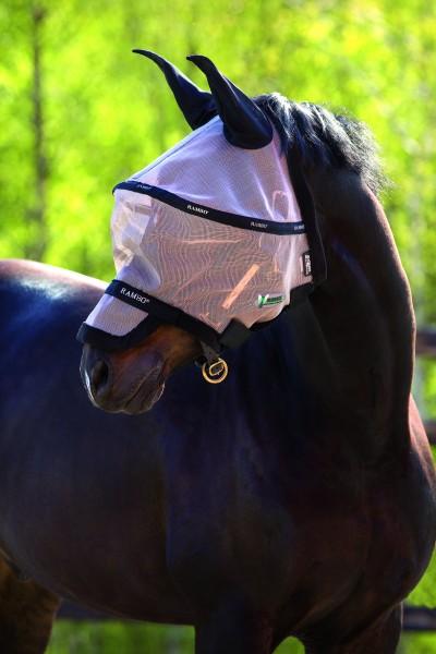 Rambo Flymask Plus Vamoose- der Rundumschutz für den Kopf