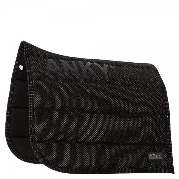 Anky Saddlepad Shiny Dressur schwarz oder weiss
